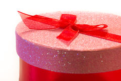 Sparkly Gift Box Royalty Free Stock Image
