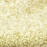 Sparkly Golden Background Stock Photo