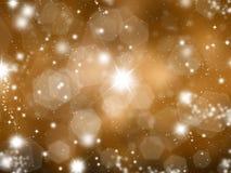Sparkly Goldhintergrund Lizenzfreie Stockbilder