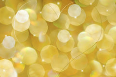 Sparkly heart bokeh background Stock Photography