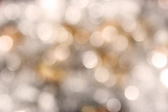 Sparkly holiday blur. Ry background - gold and silver Royalty Free Stock Photos
