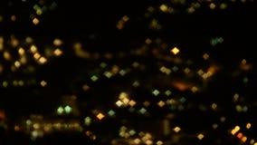 Sparkly nighttime światła zbiory