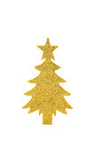 Sparkly paper tree Royalty Free Stock Images