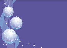 Sparkly Party Decorations Stock Photo