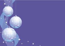 Sparkly Party-Dekorationen stockfoto