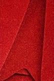 Sparkly röd juldekor Royaltyfria Foton