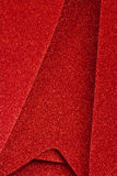Sparkly Red Christmas Decor. For Wallpaper or Background royalty free stock photos