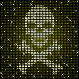 Sparkly skull Royalty Free Stock Photo