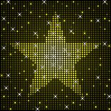 Sparkly star background Stock Photography