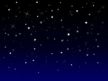 Sparkly starry background Royalty Free Stock Photography