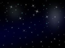 Sparkly starry background Stock Photos