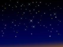 Sparkly sternenklarer Hintergrund