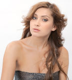 Sparkly Strapless Top Stock Image