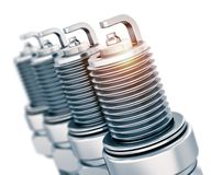 Sparkplugs Royalty Free Stock Photography