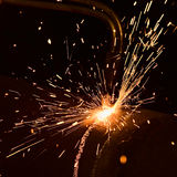 Sparks Royalty Free Stock Photos