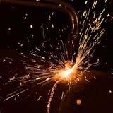 Sparks royalty free stock photos