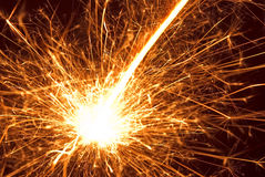 Sparks Stock Image