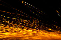 sparks abstract background Royalty Free Stock Photo