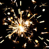 Sparks of Bengal fire Royalty Free Stock Photography