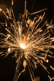 Sparks of Bengal fire Stock Image