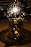 The sparks Stock Image