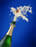 Sparks of champagne Royalty Free Stock Photo