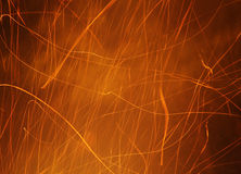 Sparks Flying Royalty Free Stock Photography