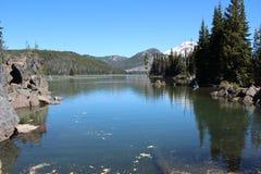 Sparks Lake (Cascade Lakes) in Oregon Royalty Free Stock Photos
