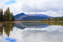 Sparks Lake Central Oregon Wilderness Royalty Free Stock Images
