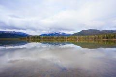 Sparks Lake Central Oregon Wilderness Stock Photos