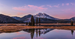 Sparks Lake, Or Royalty Free Stock Photos