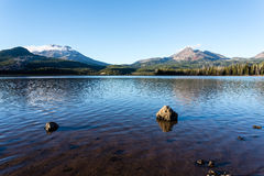 Sparks Lake, Oregon Stock Photography