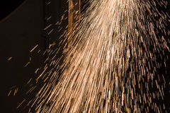 Sparks from Welding Royalty Free Stock Image