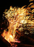 Sparky flame Stock Photos