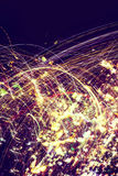 Sparky Particles Abstract Royalty Free Stock Photo