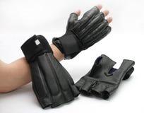 sparrings карате перчаток Стоковое Фото