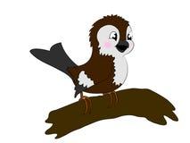 sparrow royaltyfri illustrationer