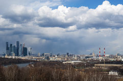 Sparrow Hills, Moscow, Russian federal city, Russian Federation, Russia Stock Images