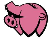 Sparschwein stock abbildung