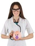Sparschwein-Gesundheit Stockbilder