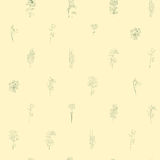 Sparse pattern with flowers Stock Images