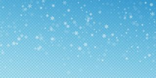 Free Sparse Snowfall Christmas Background. Subtle Flyin Royalty Free Stock Images - 158532679