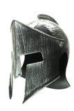 Spartański hełm odizolowywający na białym tle 1 Zdjęcia Stock