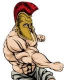 Spartański Uderzać pięścią Fotografia Royalty Free