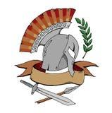 Sparta emblem logo Stock Images