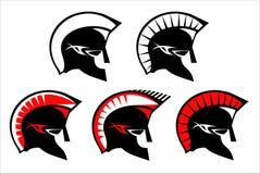 Sparta trojan stock illustrationer