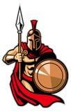 Spartaans leger stock illustratie