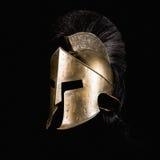 Spartaanse Helm royalty-vrije stock foto's