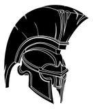 Spartaanse of trojan helm Royalty-vrije Stock Foto's