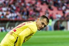 17/07/15 Spartak 2-2乌法Artyom列布罗夫 免版税库存图片